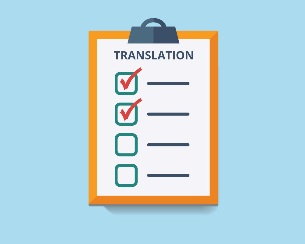The Ultimate Checklist for Translators