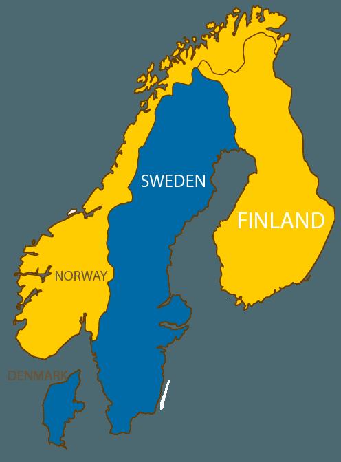 Swedish language_map_inner page
